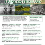 "Fall 2016 Grange Lyceum Series: ""Living on This Land"""